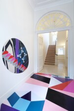 A bespoke installation, mural or sculpture in a public or private context