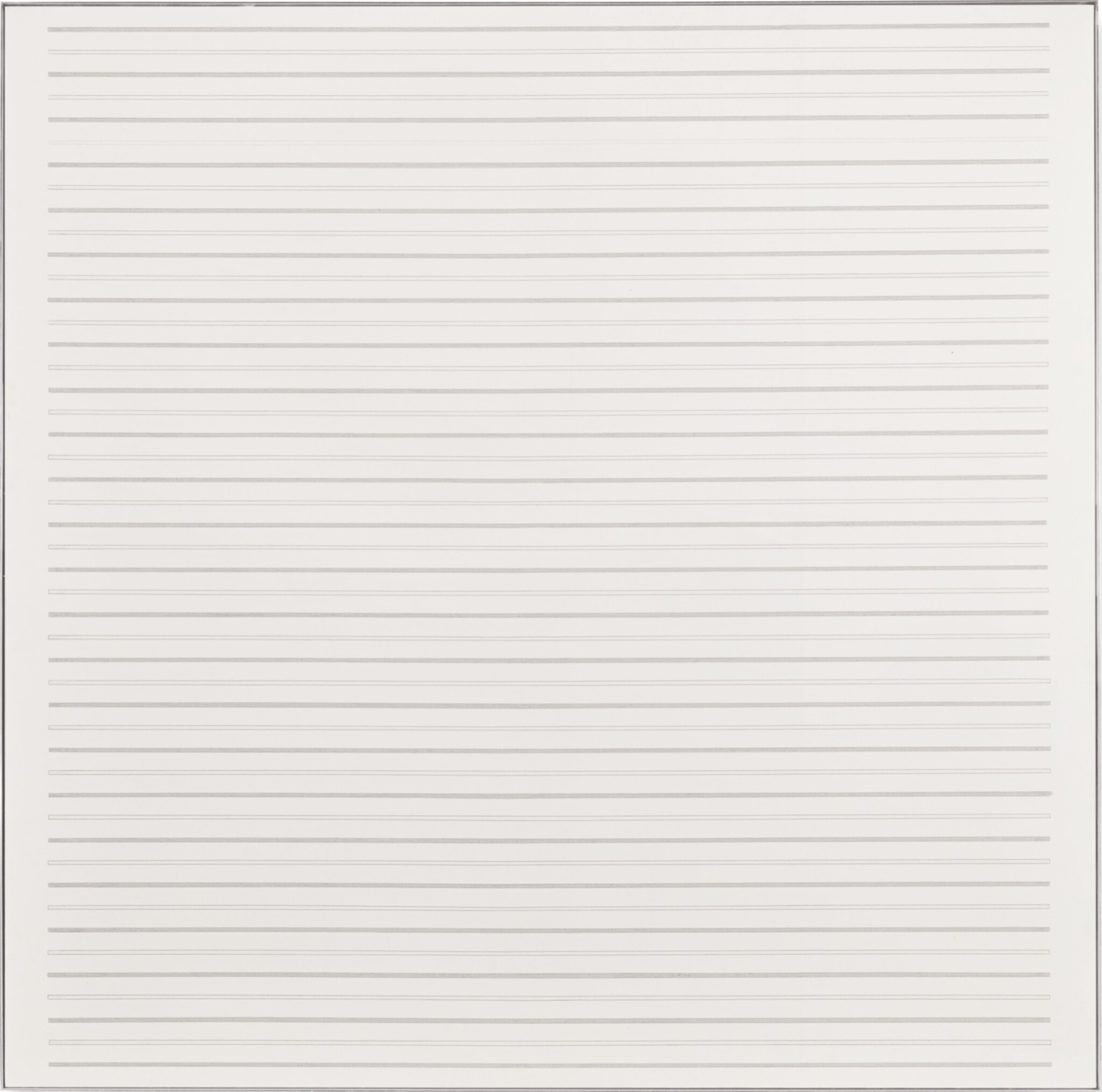 View full screen - View 1 of Lot 4. AGNES MARTIN | MOUNTAIN FLOWERS I.