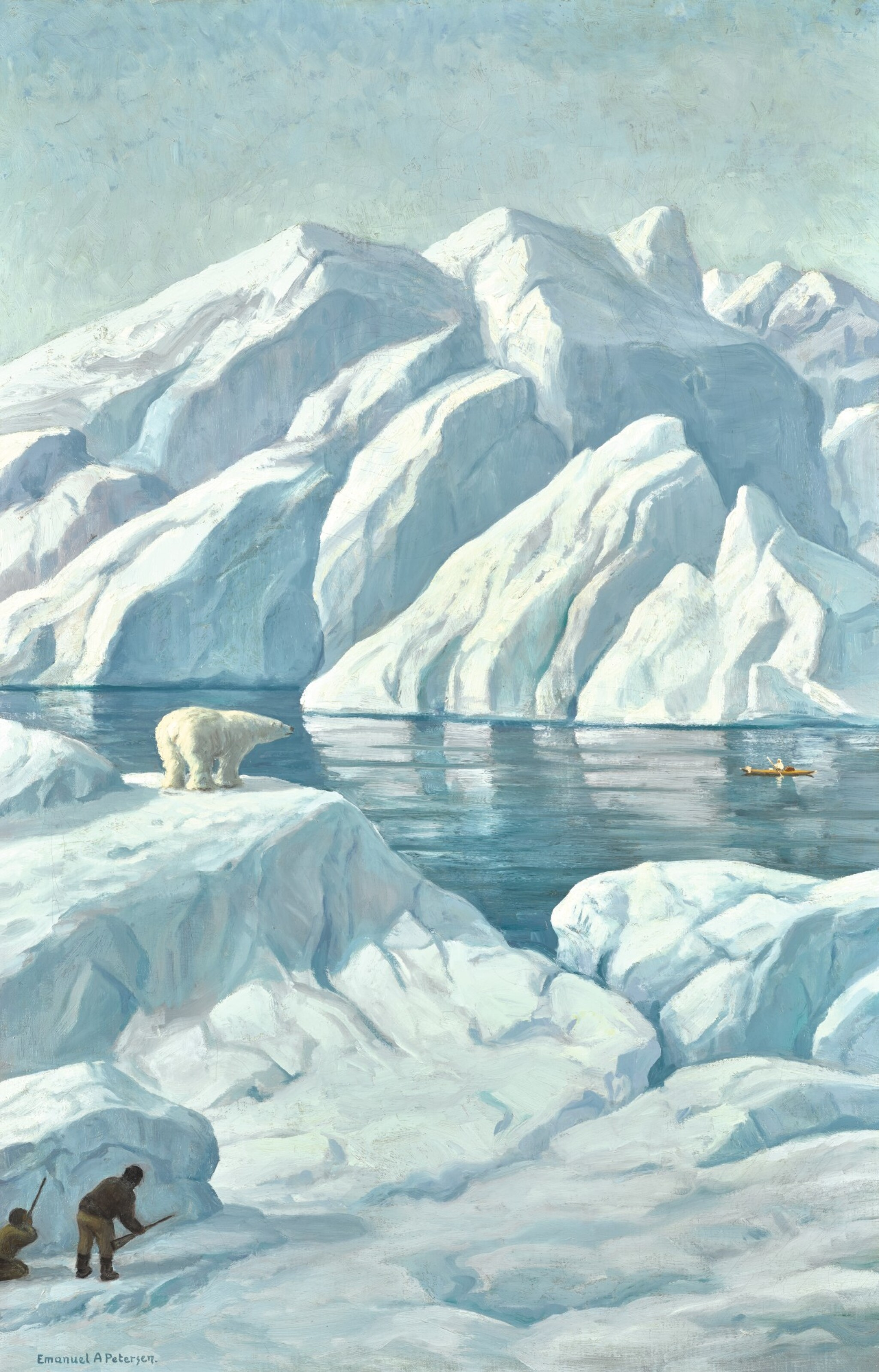 EMANUEL PETERSEN | Bear Hunting in Greenland