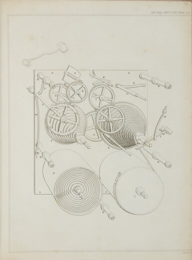 View 2. Thumbnail of Lot 33. BABBAGE, CHARLES   ON A METHOD OF EXPRESSING BY SIGNS THE ACTION OF MACHINERY. 1826.