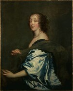 FOLLOWER OF SIR ANTHONY VAN DYCK   Portrait of Lucy, Countess of Carlisle (c. 1600-1660)