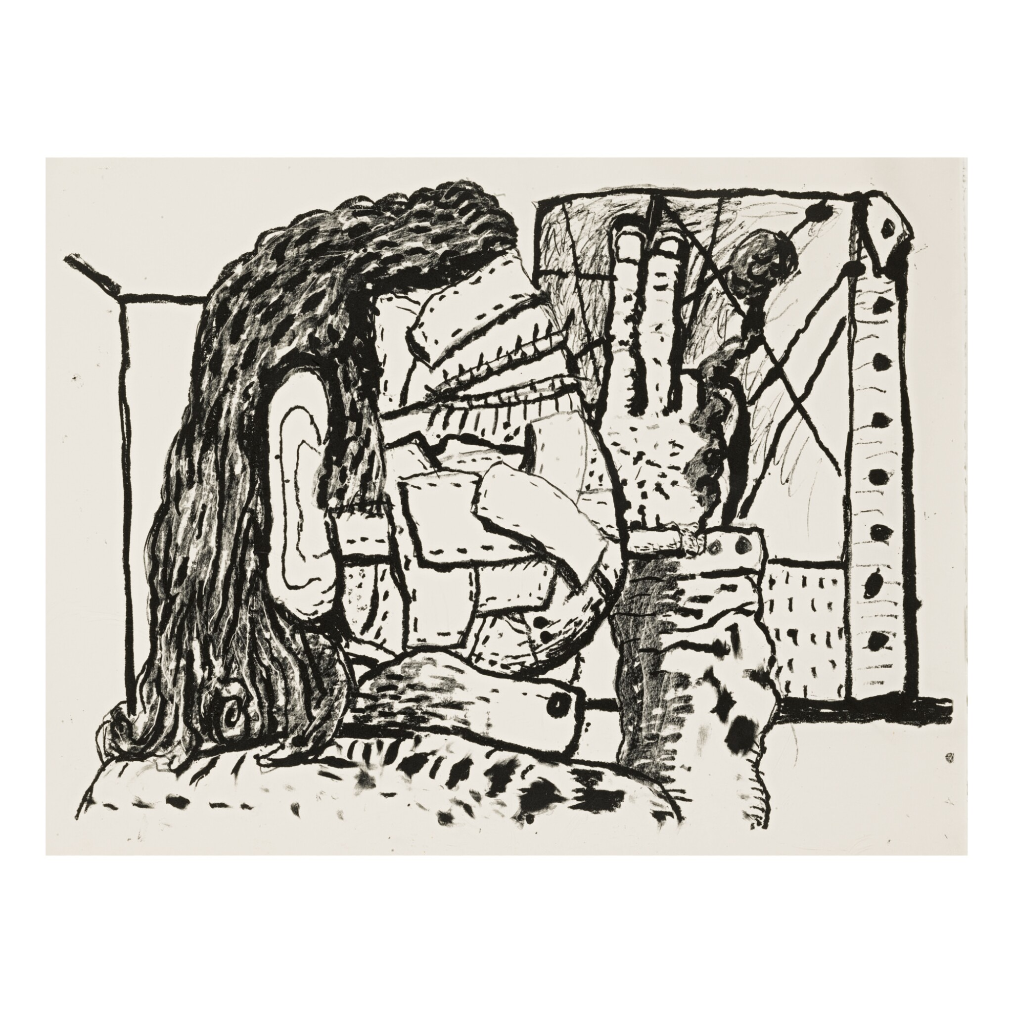 View full screen - View 1 of Lot 202. PHILIP GUSTON | PAINTER.