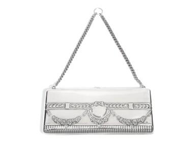 A silver evening bag, Ivan Khlebnikov, Moscow, 1908-1917