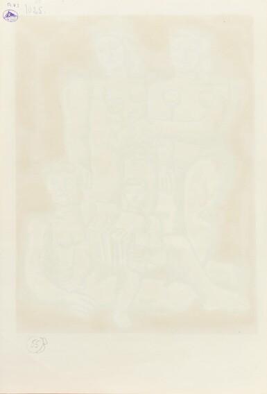 View 3. Thumbnail of Lot 83. (i) Les trois sœurs (ii) Portrait de femme      .