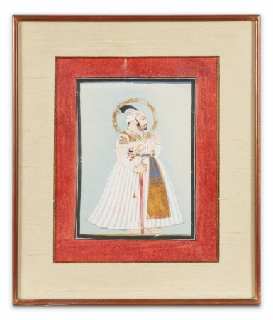 View 4. Thumbnail of Lot 66. INDIA, RAJASTHAN AND PUNJAB, 19TH CENTURY | TWO PORTRAITS AND TWO GATHERINGS.