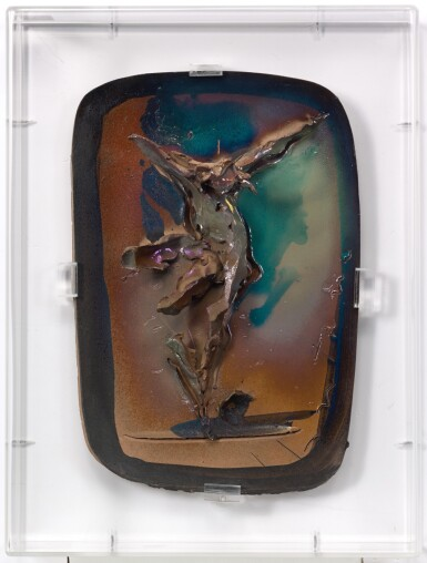 View 2. Thumbnail of Lot 24. LUCIO FONTANA  |  CROCEFISSIONE.