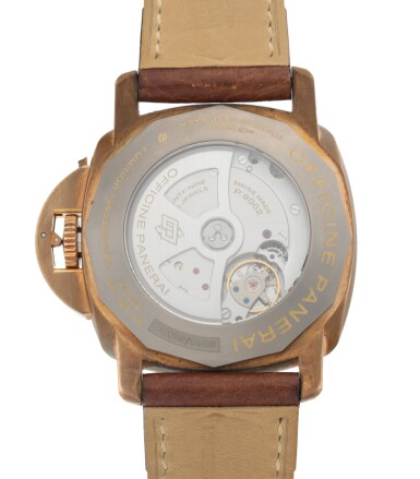 View 4. Thumbnail of Lot 904. LUMINOR SUBMERSIBLE 1950 3-DAYS AUTOMATIC BRONZO, REF PAM00507 LIMITED EDITION BRONZE WRISTWATCH WITH DATE AND POWER-RESERVE INDICATION CIRCA 2011.