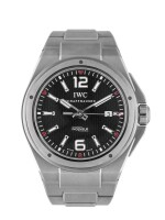 IWC   INGENIEUR, REF 3236 STAINLESS STEEL WRISTWATCH WITH DATE AND BRACELET  CIRCA 2015