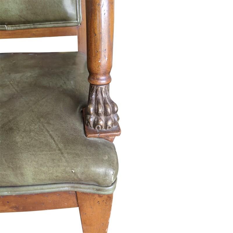 Italian Pediment Armchair