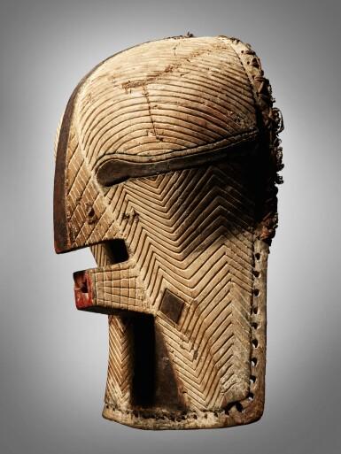 View 3. Thumbnail of Lot 77. Luba Mask, Democratic Republic of the Congo.