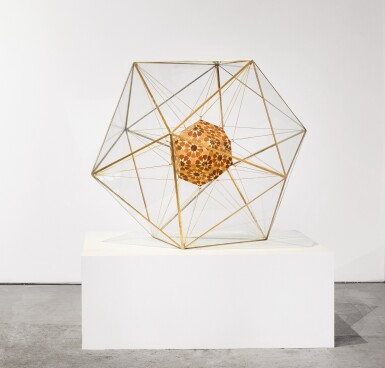 DANA AWARTANI | DODECAHEDRON WITHIN AN ICOSAHEDRON (FROM THE PLATONIC SOLID DUALS SERIES)