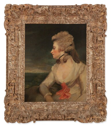 View 2. Thumbnail of Lot 124. STUDIO OF SIR JOSHUA REYNOLDS, P.R.A. | PORTRAIT OF MRS. MARY ROBINSON.