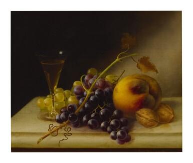 MORSTON CONSTANTINE REAM   STILL LIFE WITH WINE GLASS