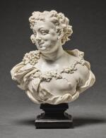 ATTRIBUTED TO GIOVANNI BONAZZA (1654-1736), ITALIAN, VENETO, EARLY 18TH CENTURY | BUST OF BACCHUS