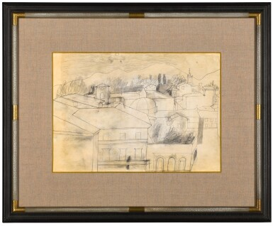 View 2. Thumbnail of Lot 601. BEN NICHOLSON | FULL MOON, LUCCA, SEPT 1956.