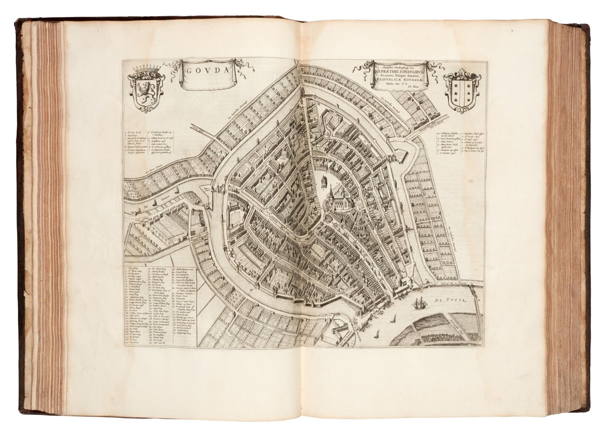 View full screen - View 1 of Lot 60. Joan Blaeu | Theatrum urbium Belgicae foederatae, c.1649.