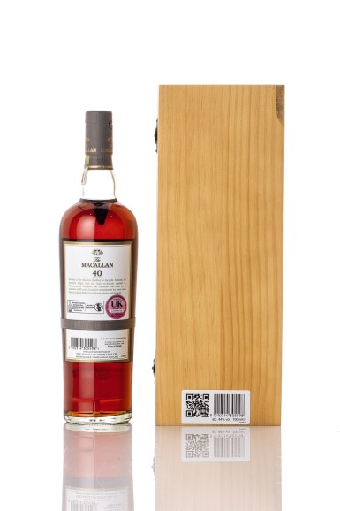 View 2. Thumbnail of Lot 5517. The Macallan 40 Year Old 2017 Release 44.0 abv NV (1 BT70).