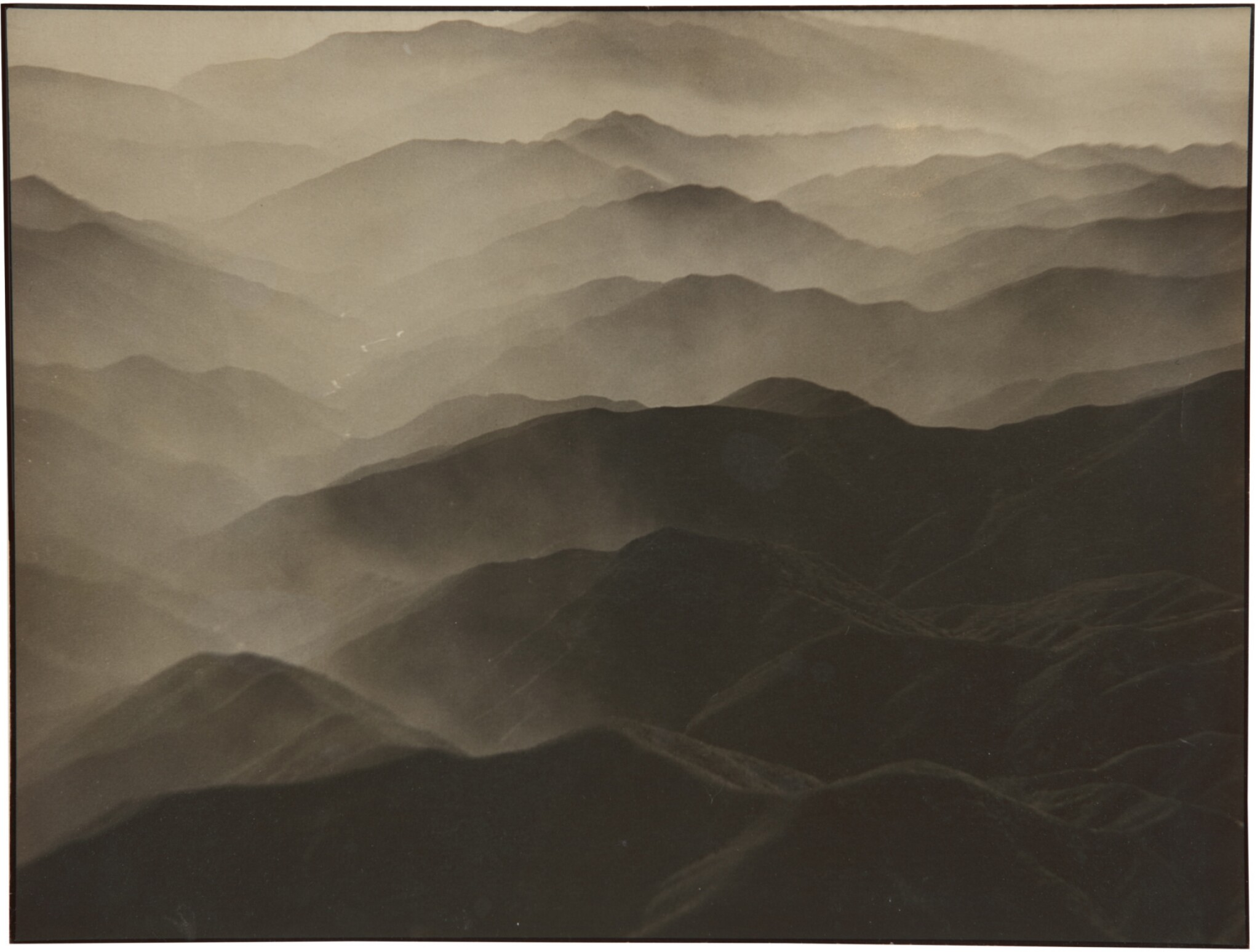 View full screen - View 1 of Lot 47. MARGARET BOURKE-WHITE | SIERRA MADRE MOUNTAINS.