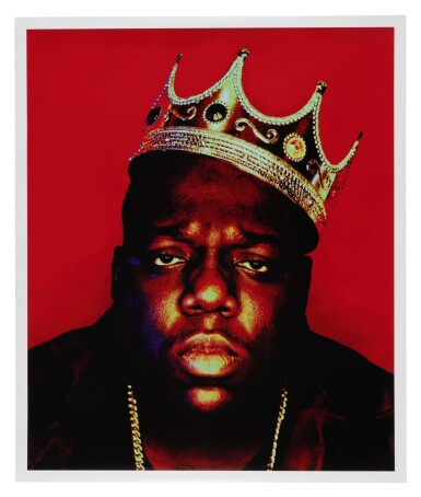 View 3. Thumbnail of Lot 87. [THE NOTORIOUS B.I.G.] BARRON CLAIBORNE | The crown worn by Biggie when photographed as the King of New York, 1997..