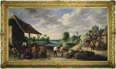 View 2. Thumbnail of Lot 12. The Wine Harvest |《葡萄酒收穫》.