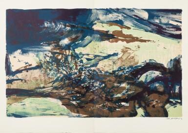 View 12. Thumbnail of Lot 181.  À la gloire de l'image.... Barcelone, 1977. 15 lithographies en couleurs. Edition originale..