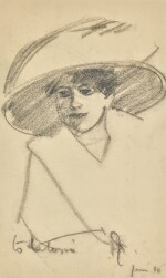 Lady in a Hat, Paris