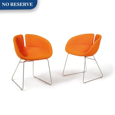 "Pair of ""Fjord"" Chairs"