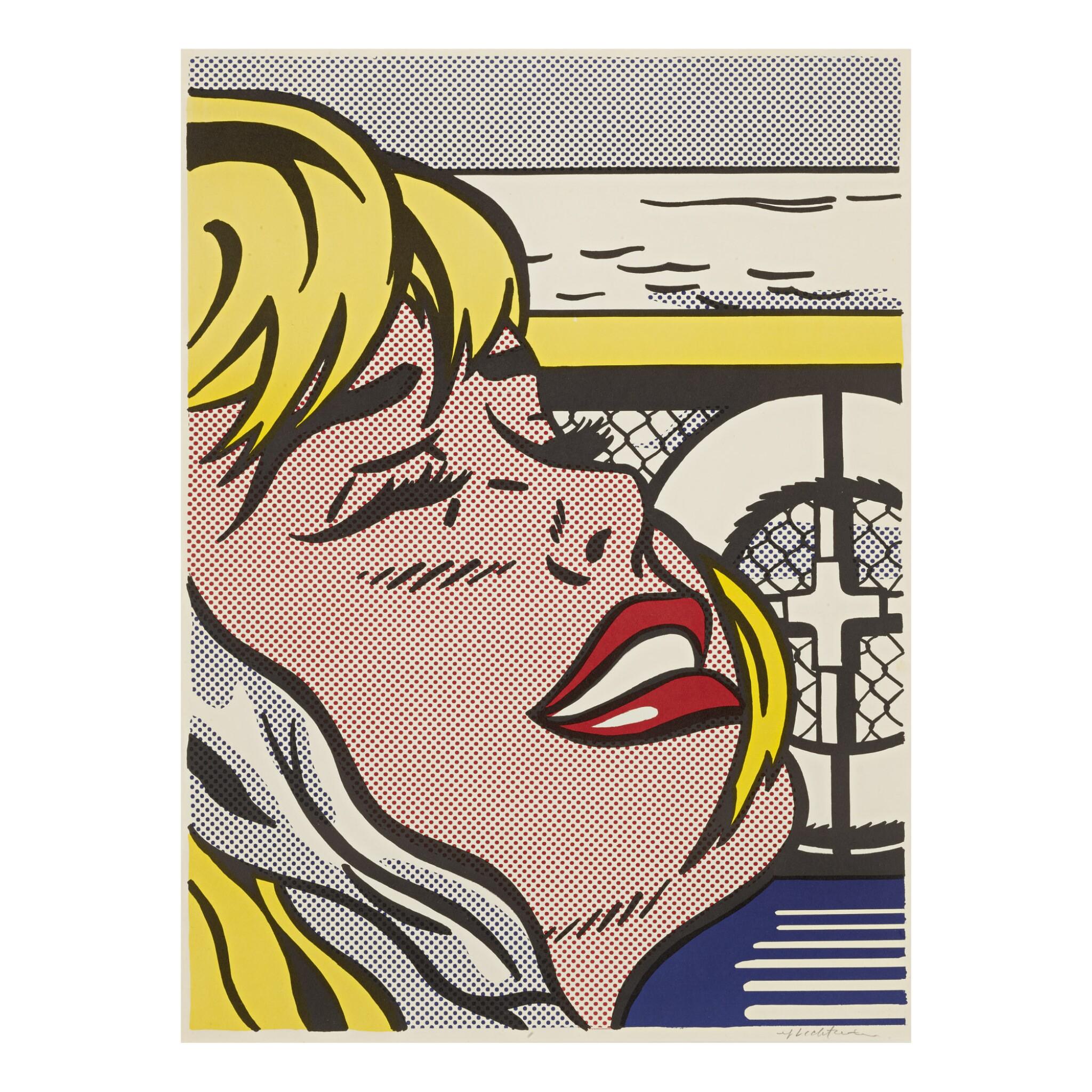 View full screen - View 1 of Lot 3. ROY LICHTENSTEIN | SHIPBOARD GIRL (C. II.6).