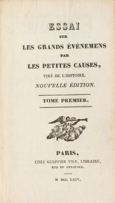 View 3. Thumbnail of Lot 77. Dictionnaire des portraits.1768. 3 vol. aux armes de la comtesse de Provence. Avec : Richer..