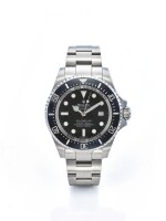 ROLEX | REF 116660 SEA-DWELLER,  A LARGE STAINLESS STEEL AUTOMATIC CENTER SECONDS WRISTWATCH WITH DATE CIRCA 2008