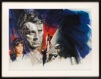 THE SPY WHO CAME IN FROM THE COLD (1965) ORIGINAL ARTWORK, FRENCH