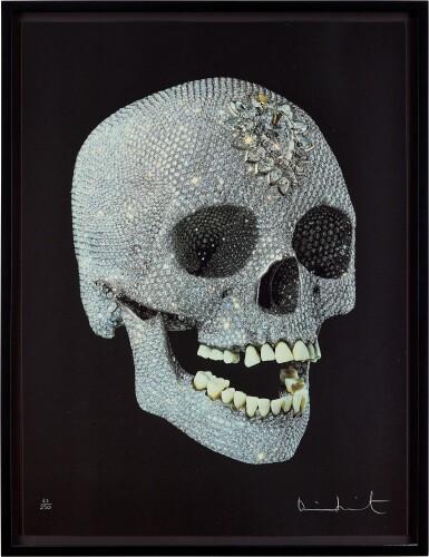 View 2. Thumbnail of Lot 13. For the Love of God: The Diamond Skull   獻給上帝的愛:鑽石骷髏頭.