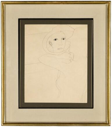 View 2. Thumbnail of Lot 10. BEN NICHOLSON, O.M.  |  1933 (GIRL IN A MIRROR).