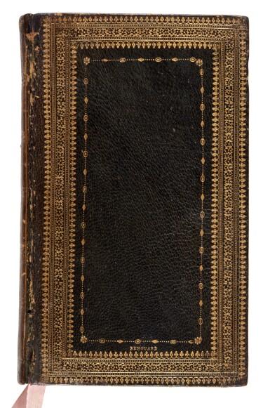 View 1. Thumbnail of Lot 240. Statius, [Opera], Venice, Aldus, 1502, navy morocco gilt, Renouard's copy.