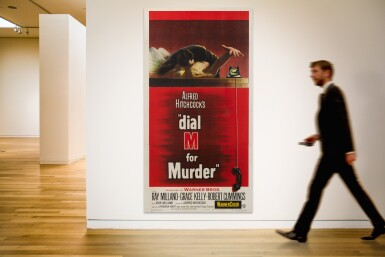 View 2. Thumbnail of Lot 69. DIAL M FOR MURDER (1954) POSTER, US.
