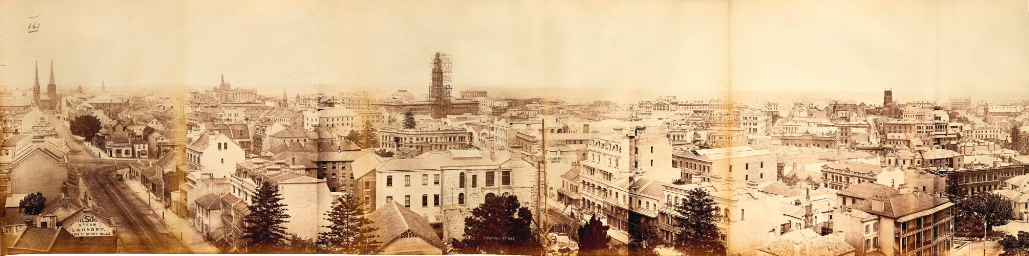 View full screen - View 1 of Lot 156. Sydney | 360-degree photograph panorama, 1885.
