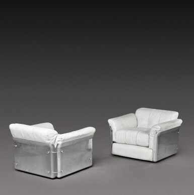 View 2. Thumbnail of Lot 190. A Pair of Larissa Armchairs.