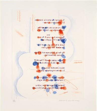 DAVID HOCKNEY | THE BLUE GUITAR (SCOTTISH ARTS COUNCIL 199–218; MCA TOKYO 178-197)