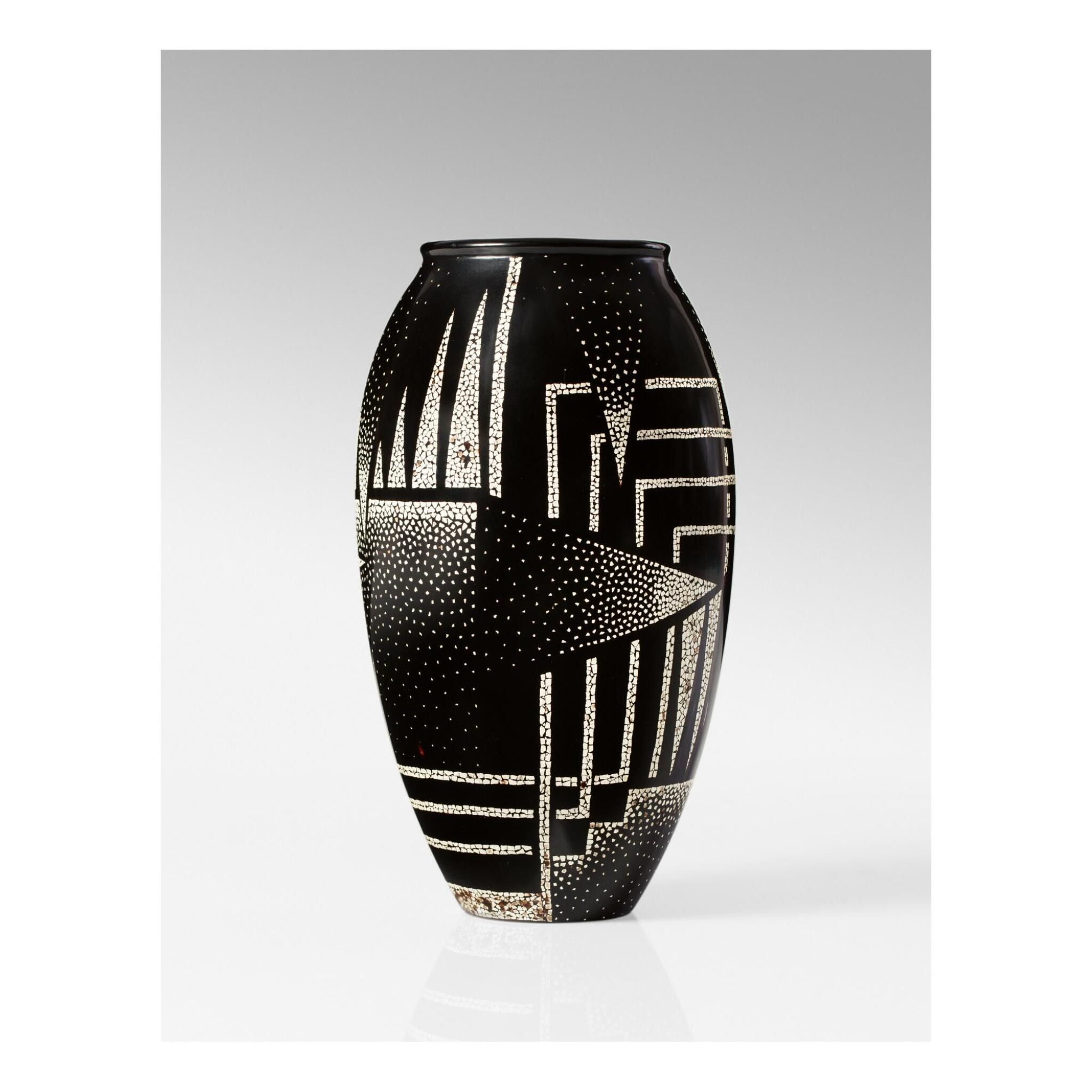 View full screen - View 1 of Lot 25. JEAN DUNAND | VASE   .