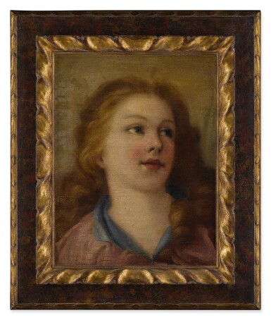 View 3. Thumbnail of Lot 585. Head of a young girl.
