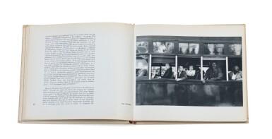 View 2. Thumbnail of Lot 39. (book) Les Américains, 1958..