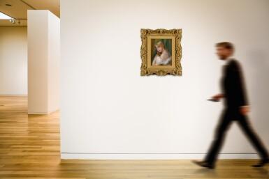 View 4. Thumbnail of Lot 9. Buste de jeune femme à l'épaule nue (Jeune fille à sa toilette).