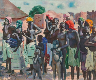 JACQUES MAJORELLE   Women of West Africa