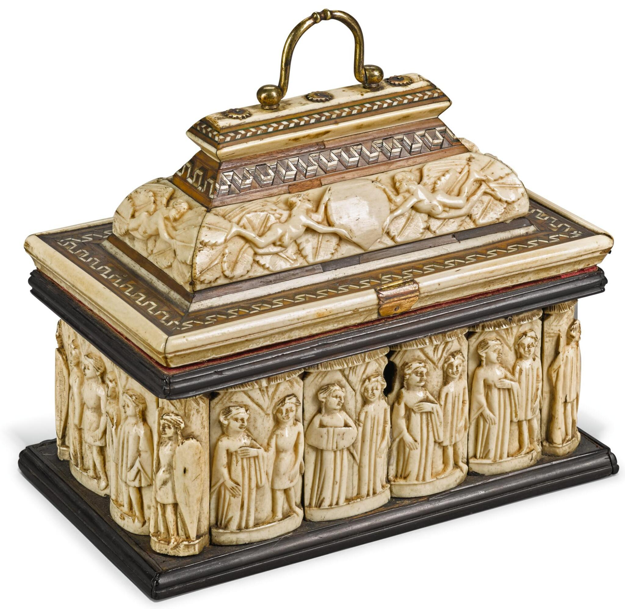ITALIAN, PROBABLY VENICE, EARLY 15TH CENTURY | CASKET
