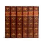 GIBBON, E.   History of the Decline and Fall of the Roman Empire, 1776-1788, 6 volumes