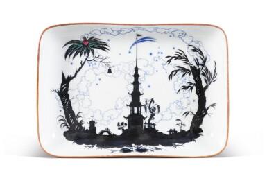View 1. Thumbnail of Lot 151. The Nightingale: a rare Soviet porcelain platter, State Porcelain Factory, Petrograd, 1922.