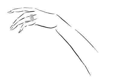 View 4. Thumbnail of Lot 1090. Diamond ring, 'Allegra'.
