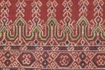 Tissu cérémoniel pua, Iban, Borneo, Indonesia, début du 20e siècle | Sacred ceremonial cloth pua, Iban, Borneo, Indonesia, early 20th century