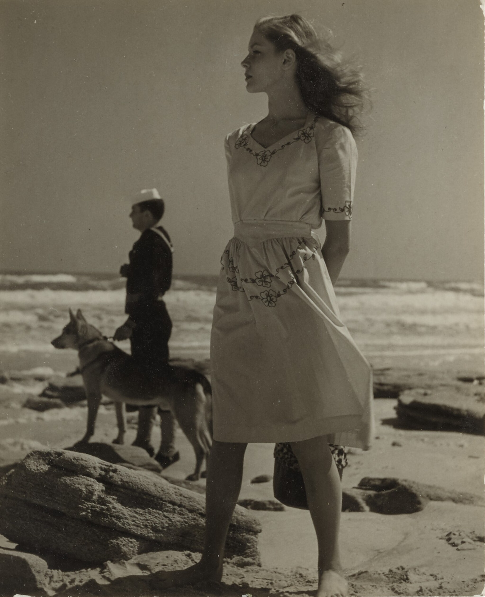 View full screen - View 1 of Lot 4. LOUISE DAHL-WOLFE | LAUREN BACALL.