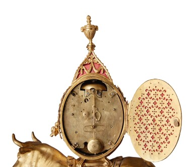 View 5. Thumbnail of Lot 137. AN ENGLISH GEORGE III GILT BRONZE MANTLE CLOCK BY TIMOTHY WILLIAMSON, LONDON, MADE FOR THE CHINESE MARKET, CIRCA 1780.